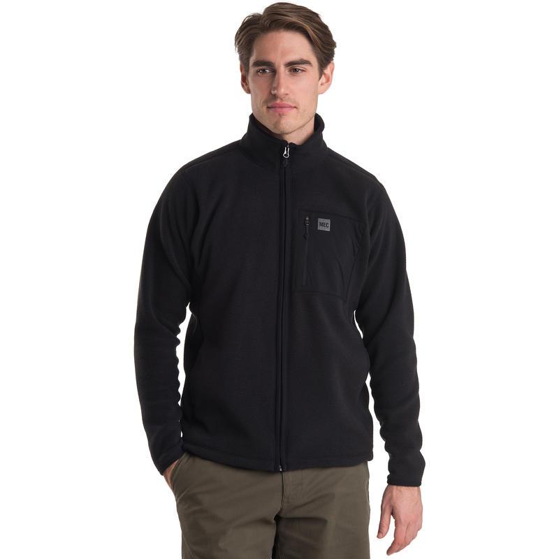 Fireside Fleece Jacket Black