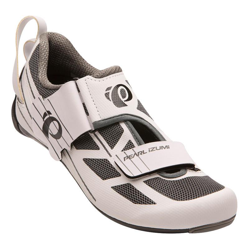 Chaussures de vélo Tri Fly Select V6 Blanc/Gris ombre