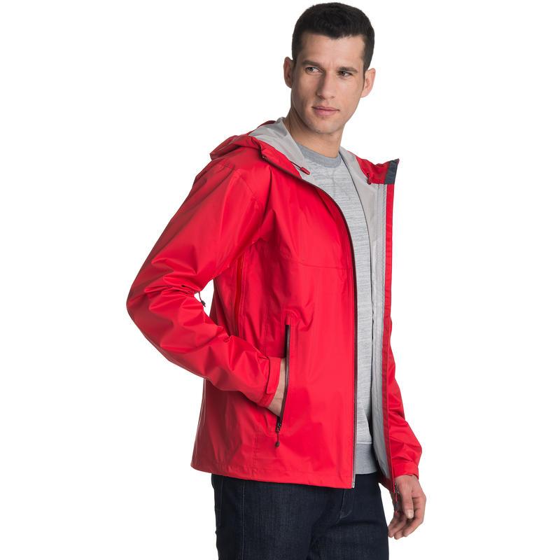 Manteau Hydrofoil Rouge victorieux