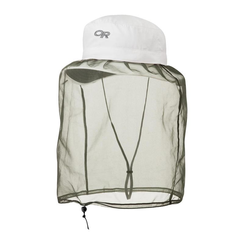 Chapeau antimoustiques Helios Blanc