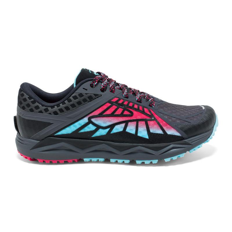 Chaussures de course sur sentier Caldera Anthracite/Azalée