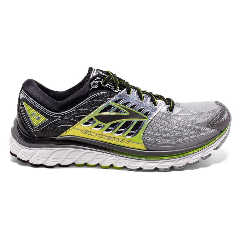 Chaussures de course sur route Glycerin 14 Argent/Noir