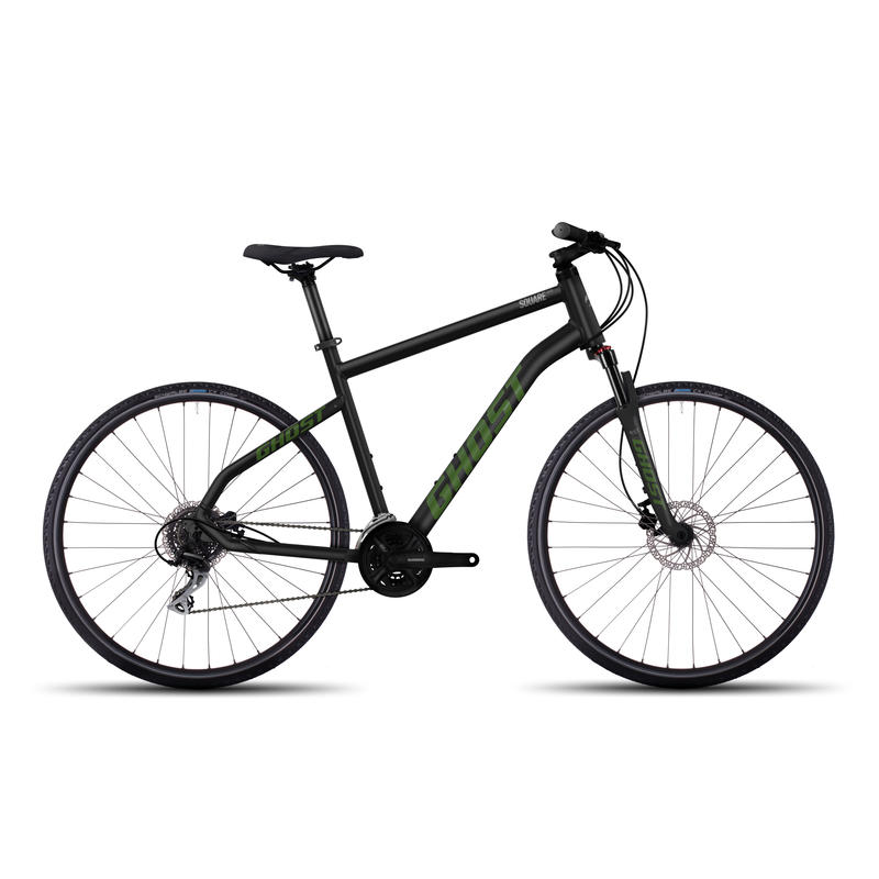 Square Cross 2 Bicycle Nightblack/riot green