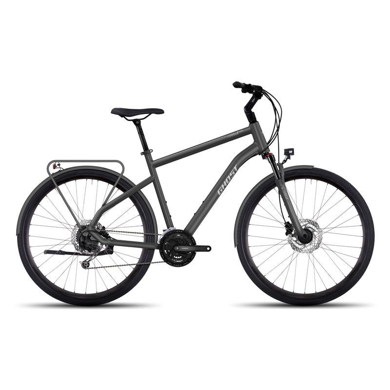 Vélo Square Trekking 4 Urbain/Argent