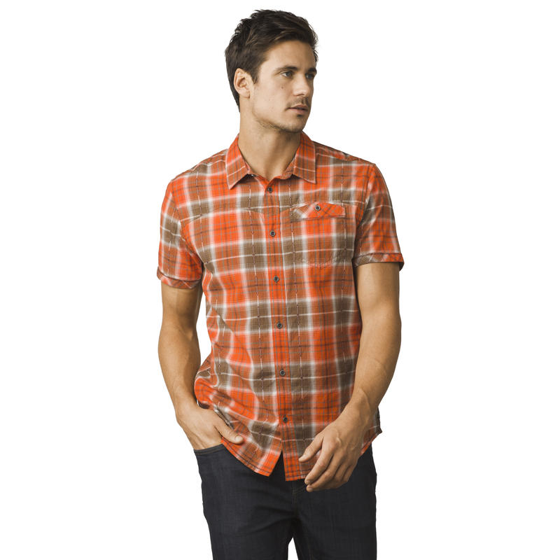 Chemise Patras Orange Crush