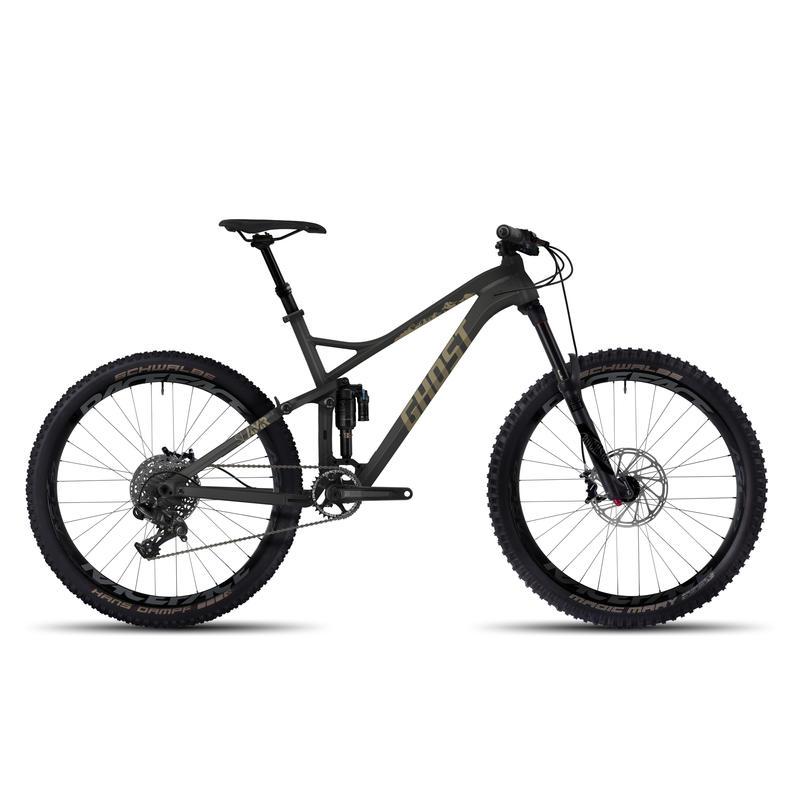 Vélo SLAMR X 5 Titane/Brun roux