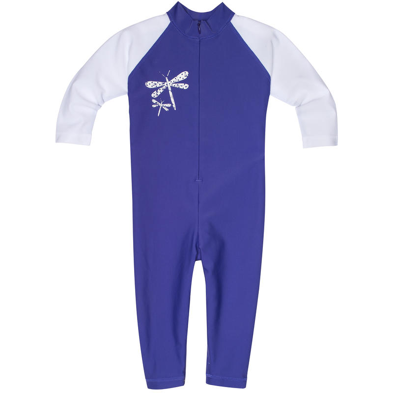 Shadow Sun Suit Viola/White Dragonfly Graphic