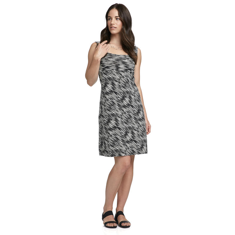 Skyler Dress Black Glisten Print