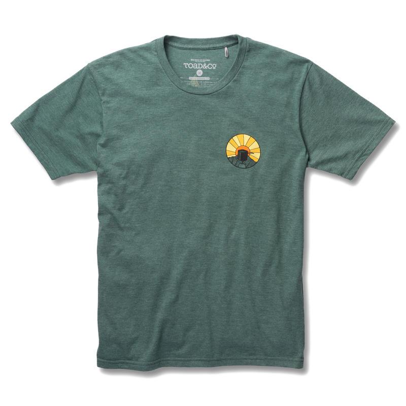 T-shirt Wake Up To This Chou frisé chiné