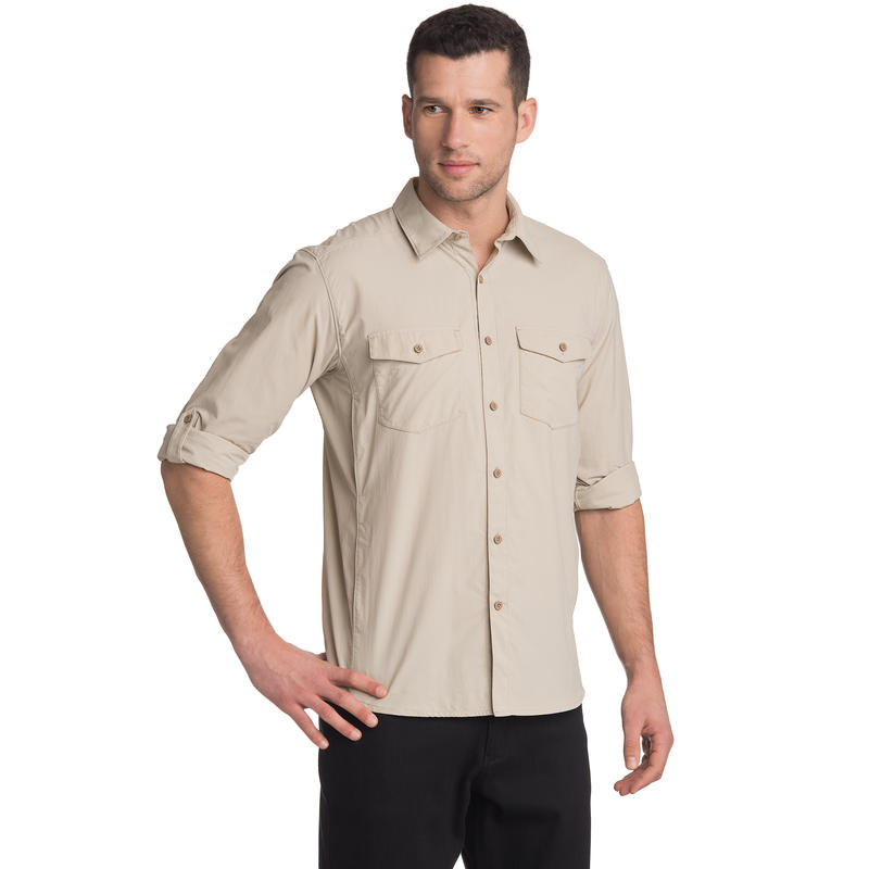 Beech Long-Sleeved Shirt Pebble