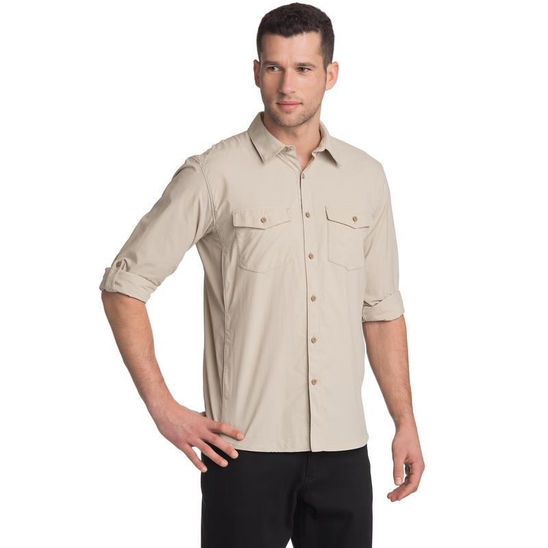 Beech Long-Sleeved Shirt Pebble