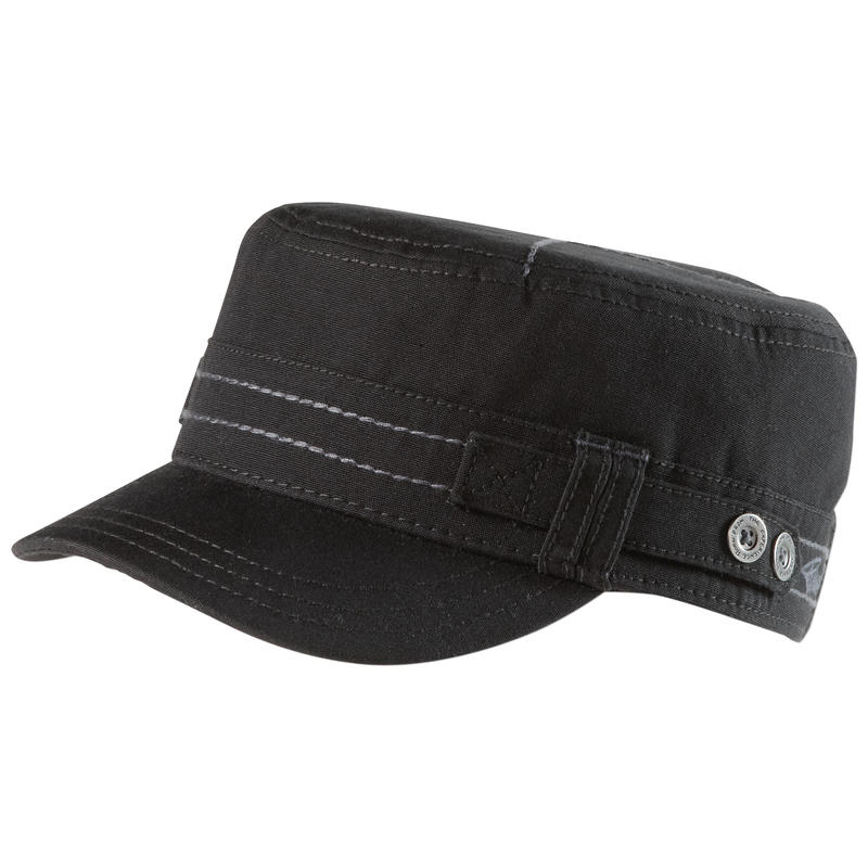 Jackie Organic Cadet Hat Black