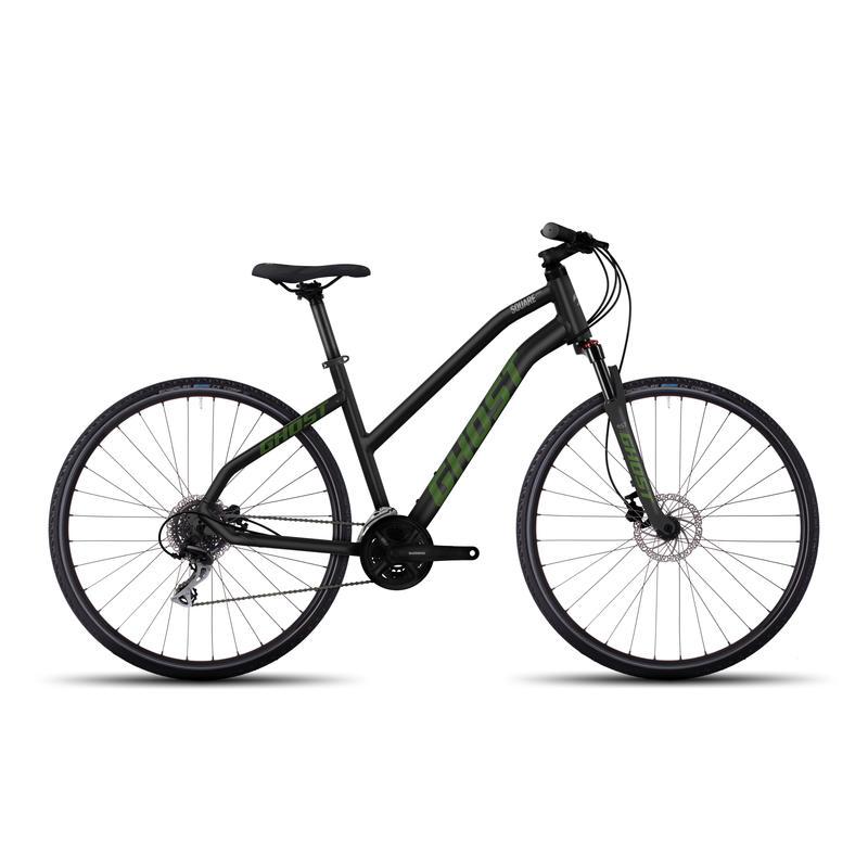 Square Cross 2 Bicycle Nightblack/riot green