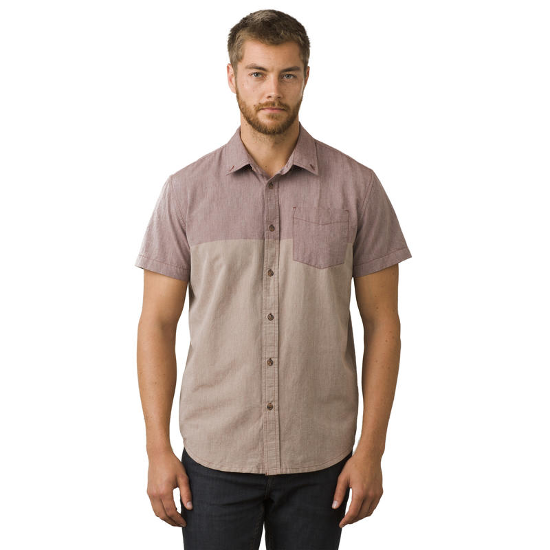 Broderick Short-Sleeved Shirt Raisin