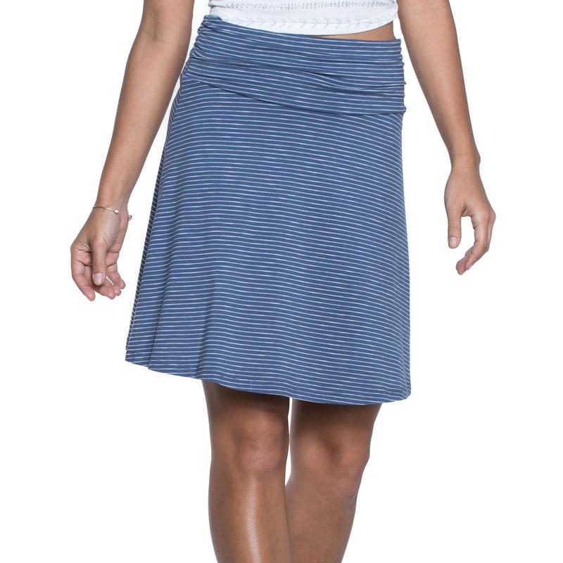 Chaka Skirt Indigo Stripe