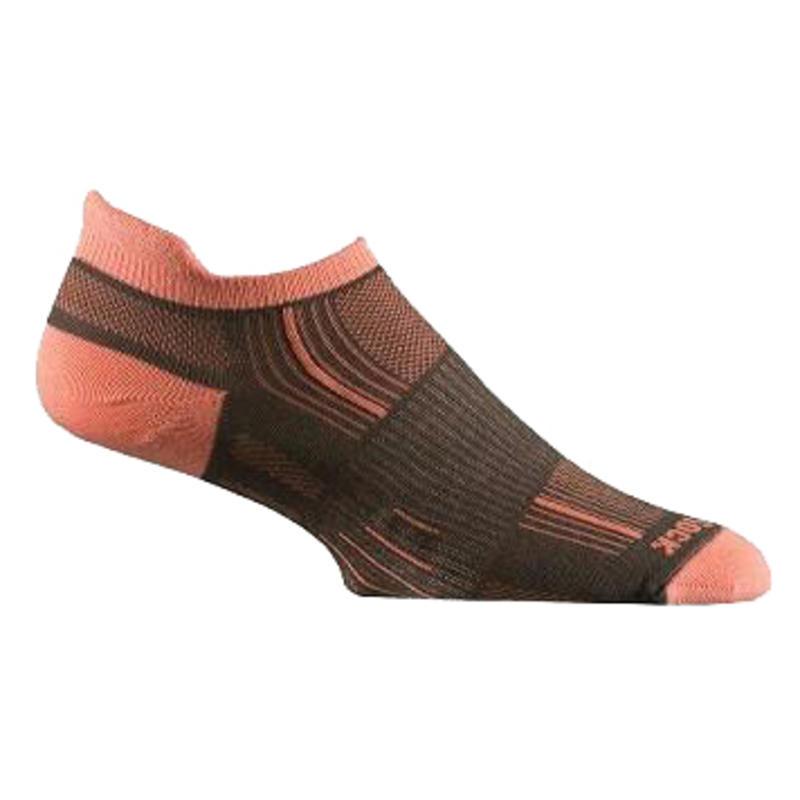 Stride Tab Sock Ash Coral