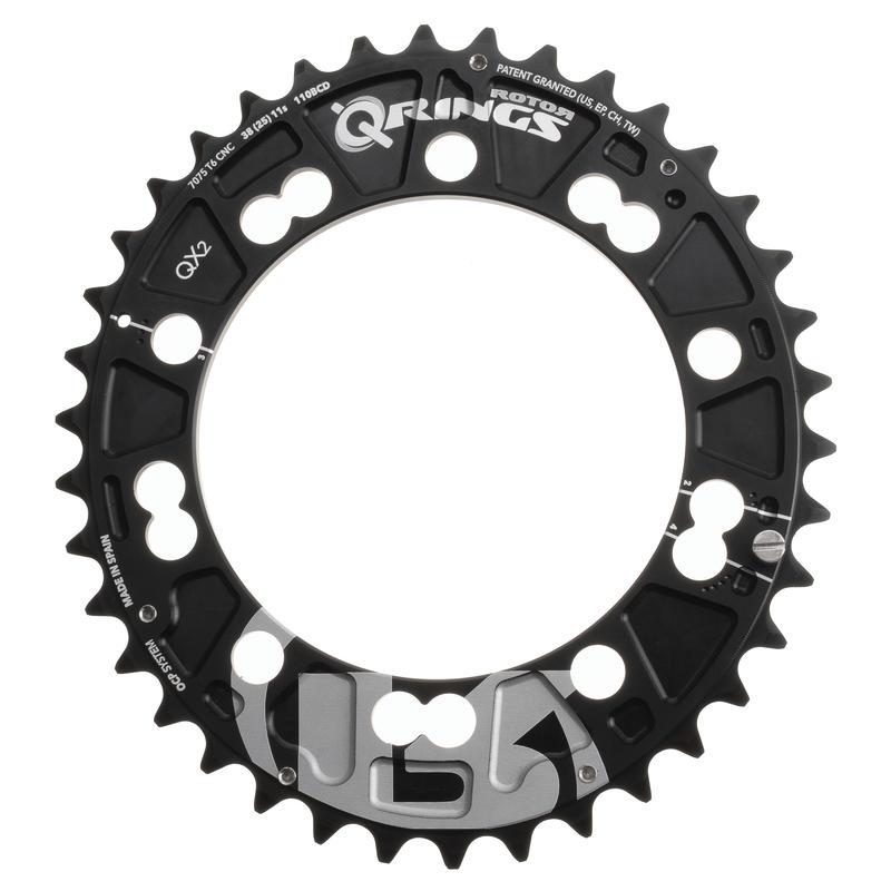 QX2 Ring (110X5) Noir