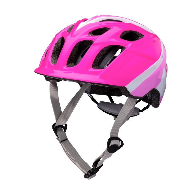 Chakra Bicycle Helmet Superhero Pink