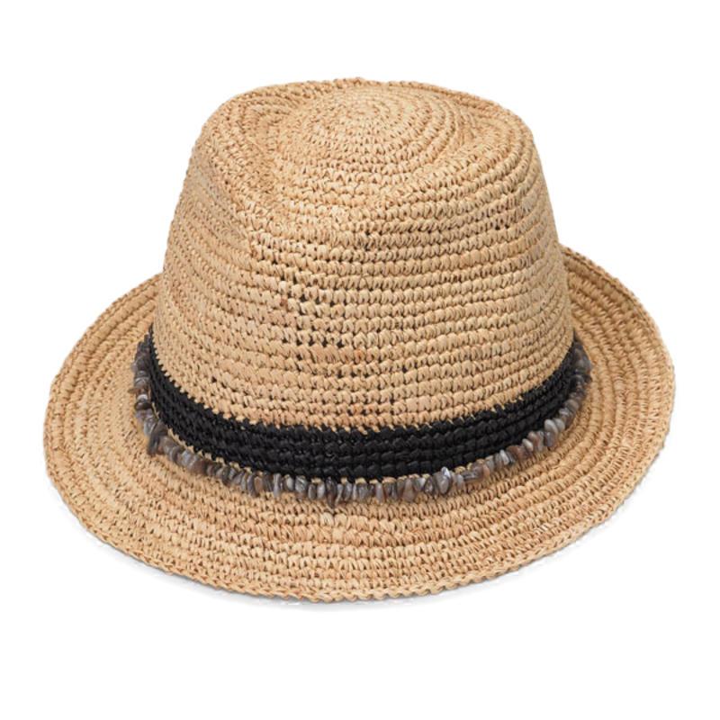 Tahiti Hat Black