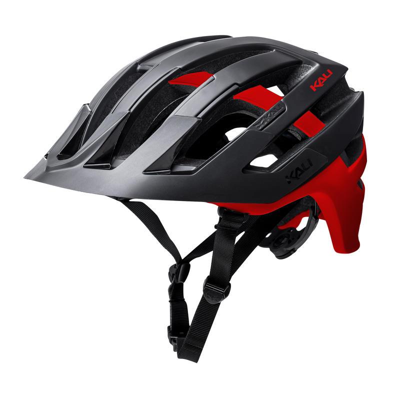 Casque de vélo Interceptor Noir mat/Rouge