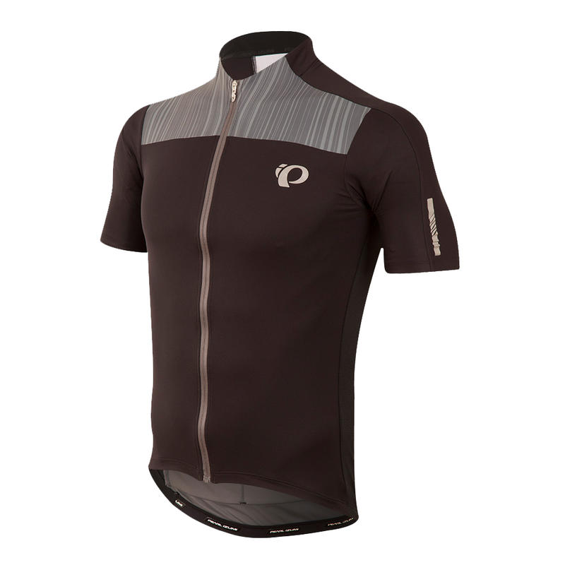 Maillot Elite Pursuit Noir/Perle fumée course