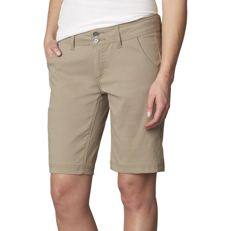 Halle Shorts Dark Khaki