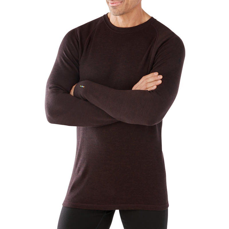 Merino 250 Baselayer Crew Long Sleeve Sumatra Heather