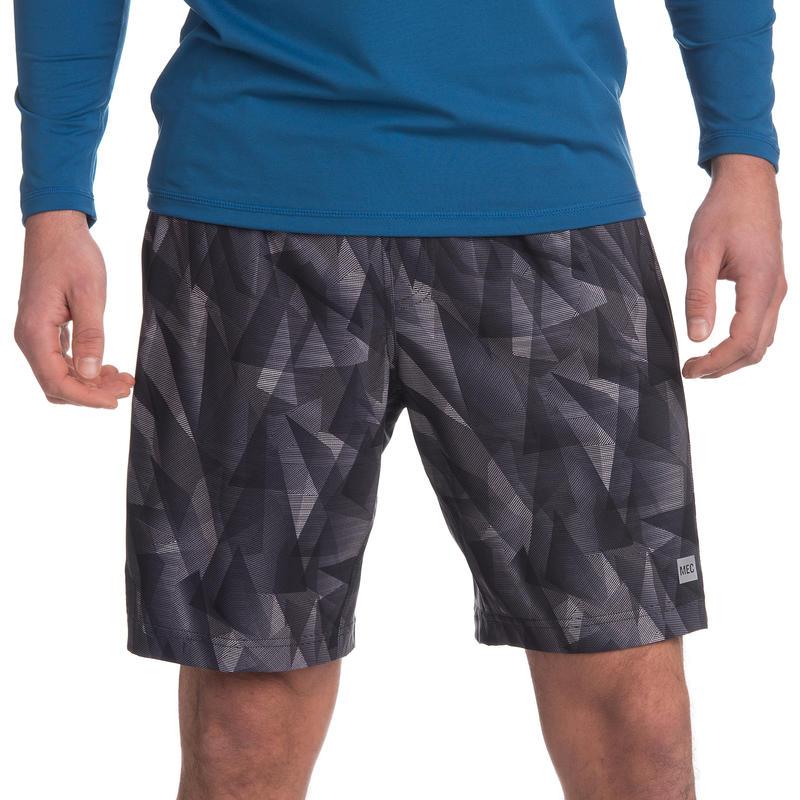 "BPM Shorts 9"" Black Laser Print"
