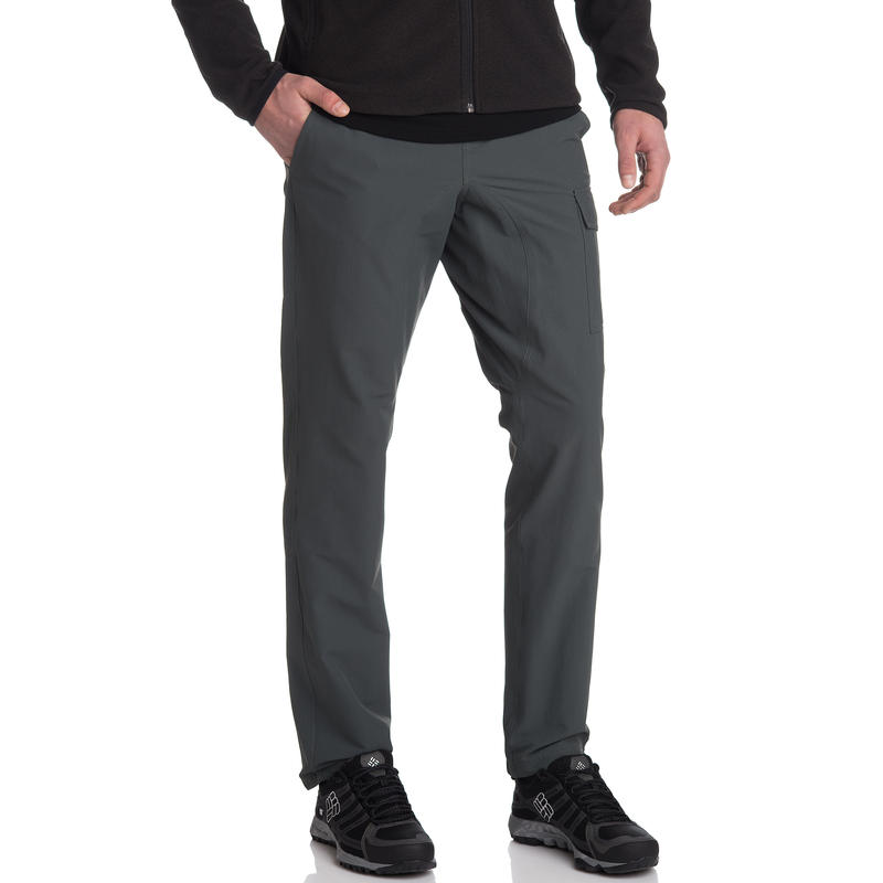 Pantalon Mica (coupe droite) Vert carbone