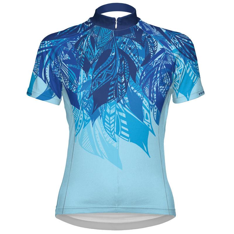 Maillot Fringe Couture Bleu clair/Bleu