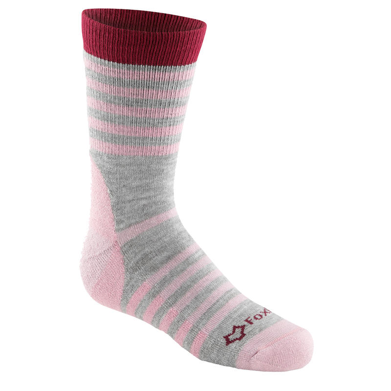 Emblazon Socks Pink