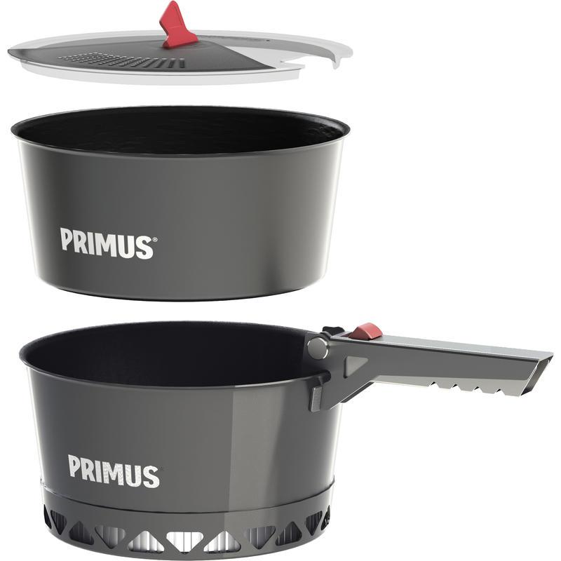 Ensemble de casserole Primetech 1,3 l Gris