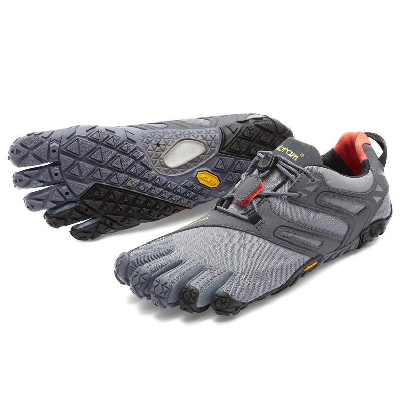 Chaussures de course sur sentier V-Trail Gris/Noir