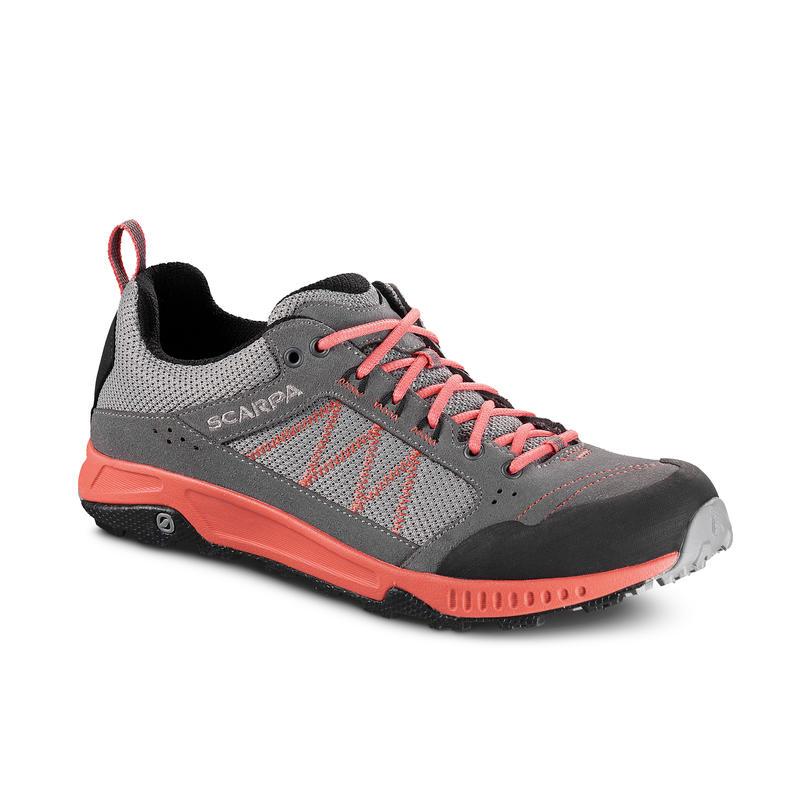 Chaussures de randonnée légère Rapid Gris/Corail