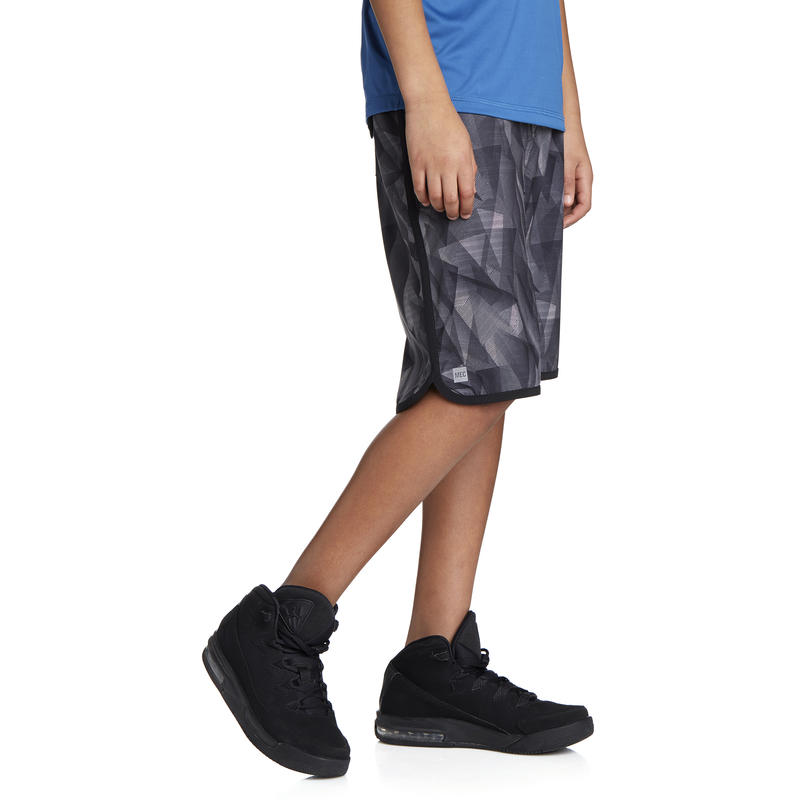 Wave Catcher Board Shorts Black Laser Print/Black