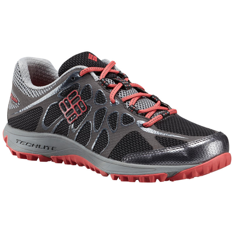 Conspiracy Titanium Light Trail Shoes Black/Sunset Red