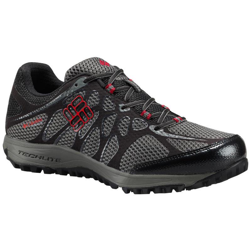 Conspiracy Titanium Light Trail Shoes Titanium MHW/Mountain Red
