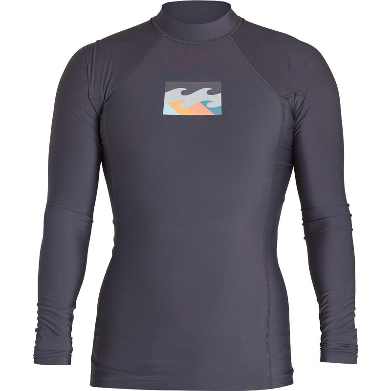 Maillot All Day Wave Performance Fit Charbon de bois