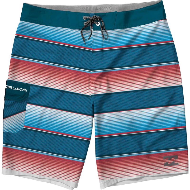 Short de surf All Day Rouge