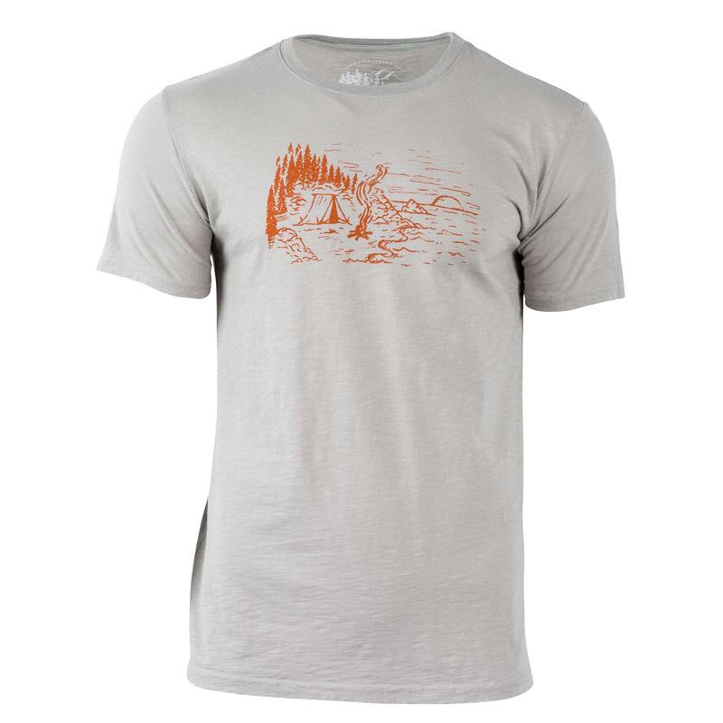 T-shirt Coastline Gris