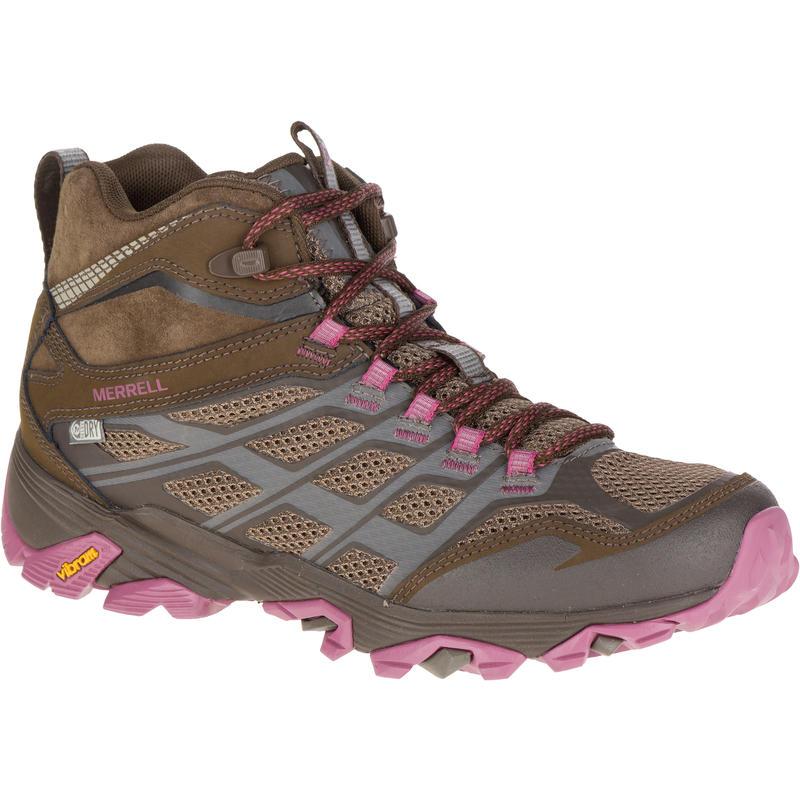 Chaussures de randonnée imperméables Moab Mid FST Rocher