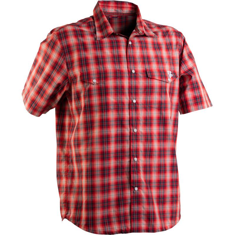 Shop Shirt Grey/Red Plaid