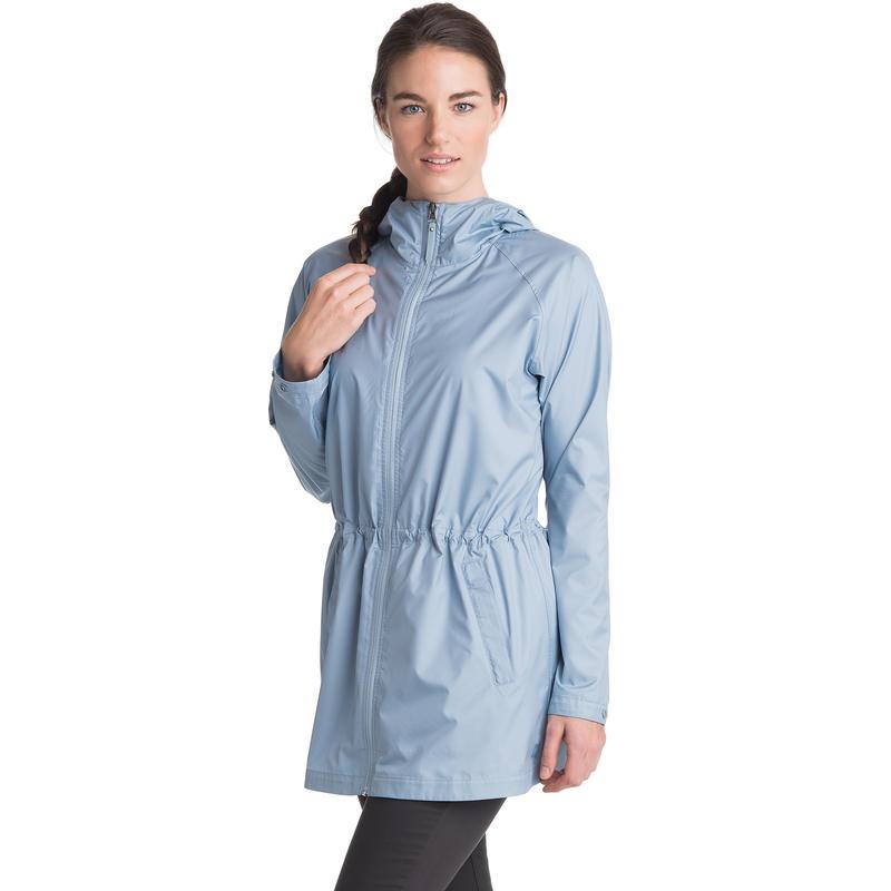 Manteau coupe-vent Vienta Bleu voilé