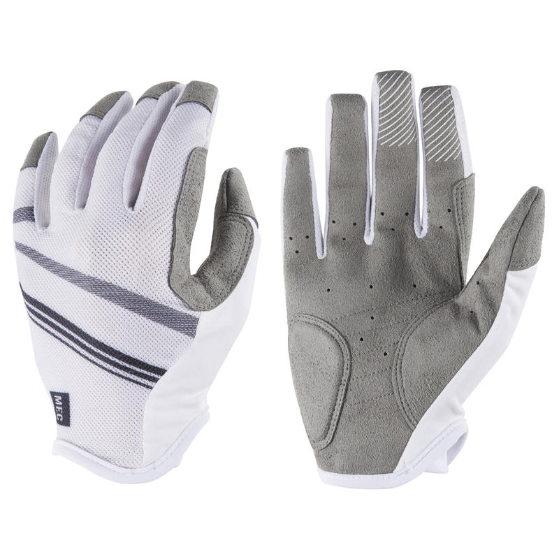 Blitz Cycling Gloves White/Black