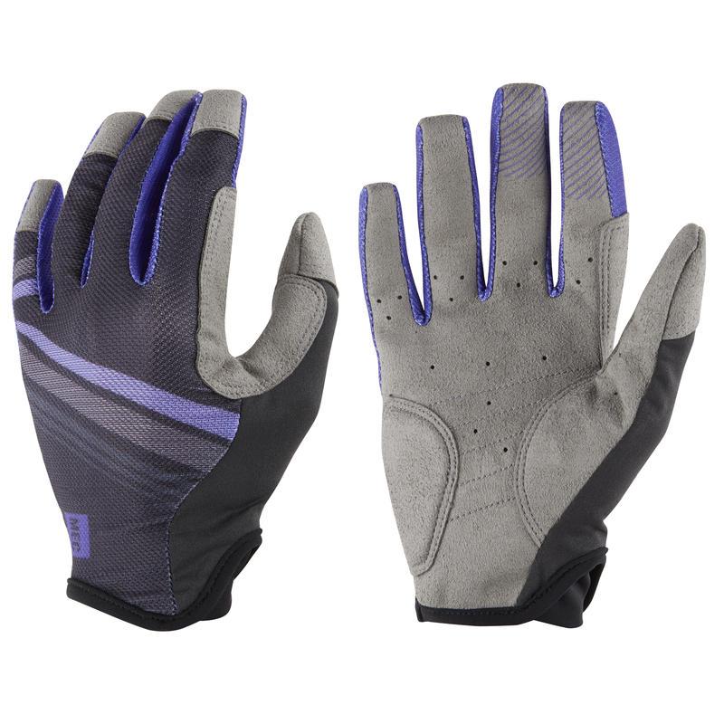Blitz Cycling Gloves Black/Viola
