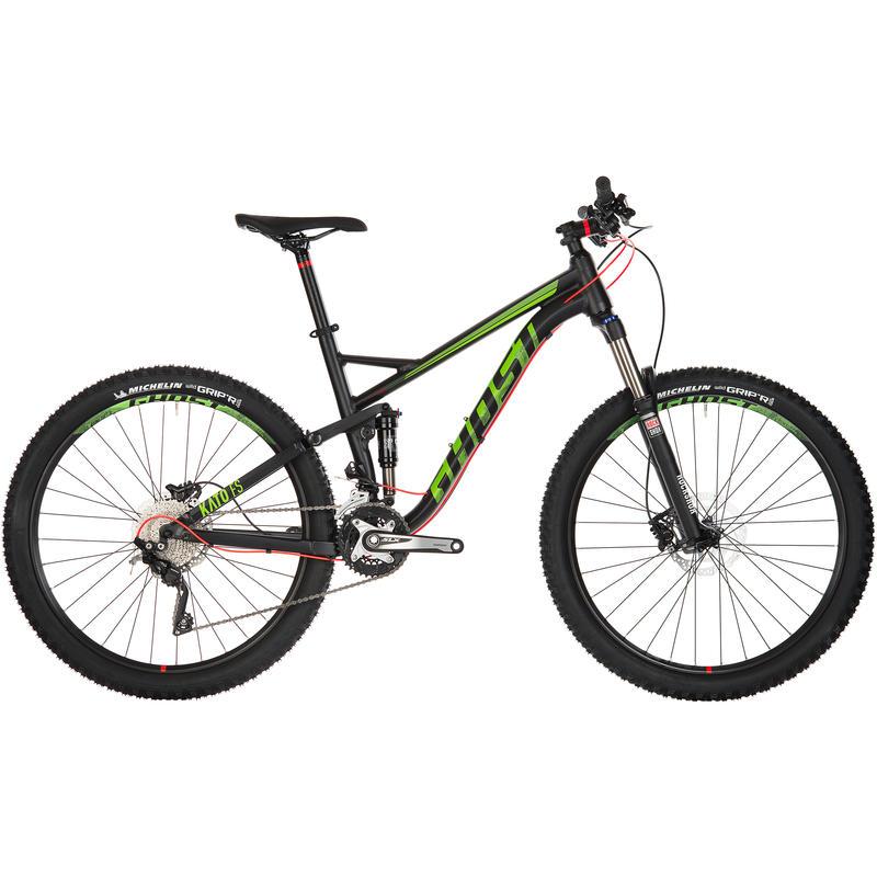 Vélo Kato FS 3 Noir/Vert