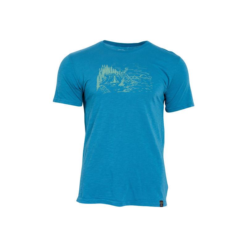 T-shirt Coastline Bleu céleste