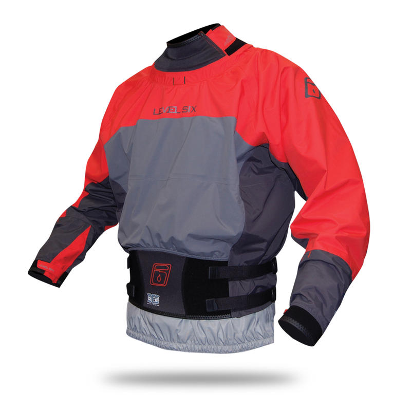 The Duke Long-Sleeved Dry Top Blaze Red/Charcoal