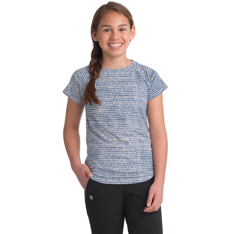 T-shirt Taylor Imprimé Shibori mousseline