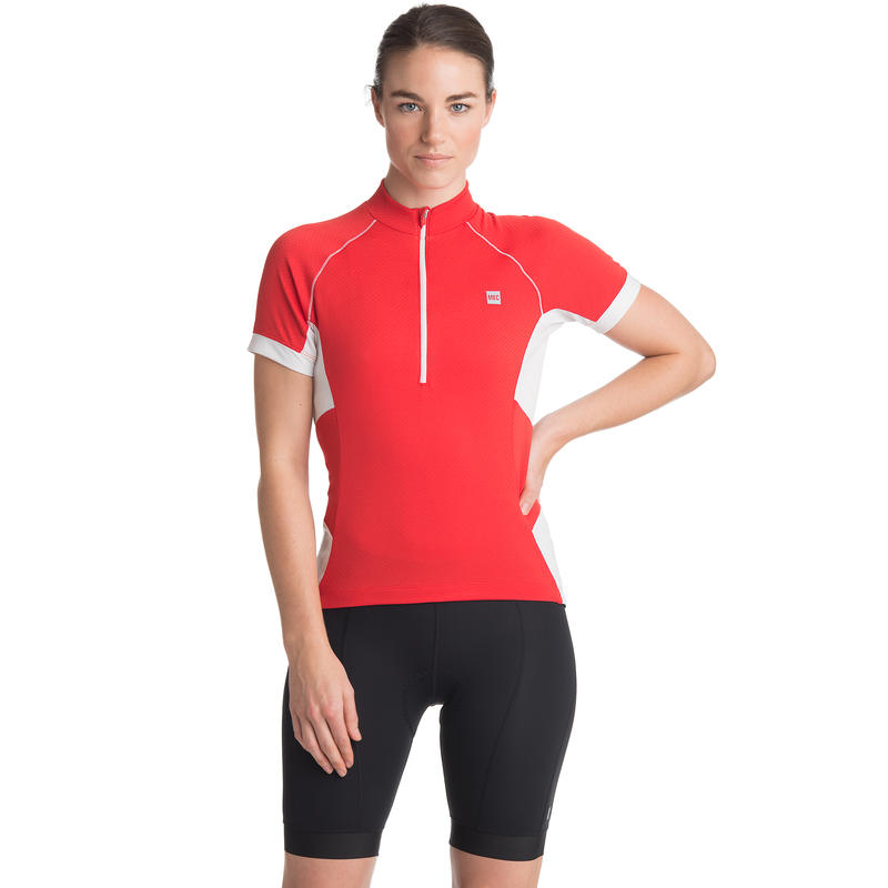 Bolt SS Jersey Victory Red/White